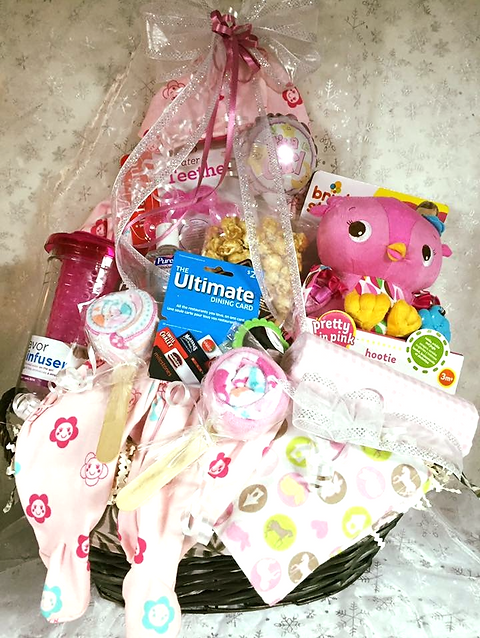 Simply made for you gift baskets ottawa ontario baby girl 4 9995 negle Gallery