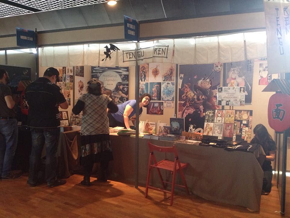 montpellier avec marina miss m coloriste de shinobi iri bd - Coloriste Montpellier