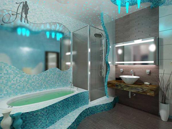 Как красиво сделать ванную комнату в квартире