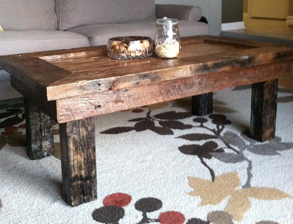 The end grain wood working co coffee table for Table 85 address