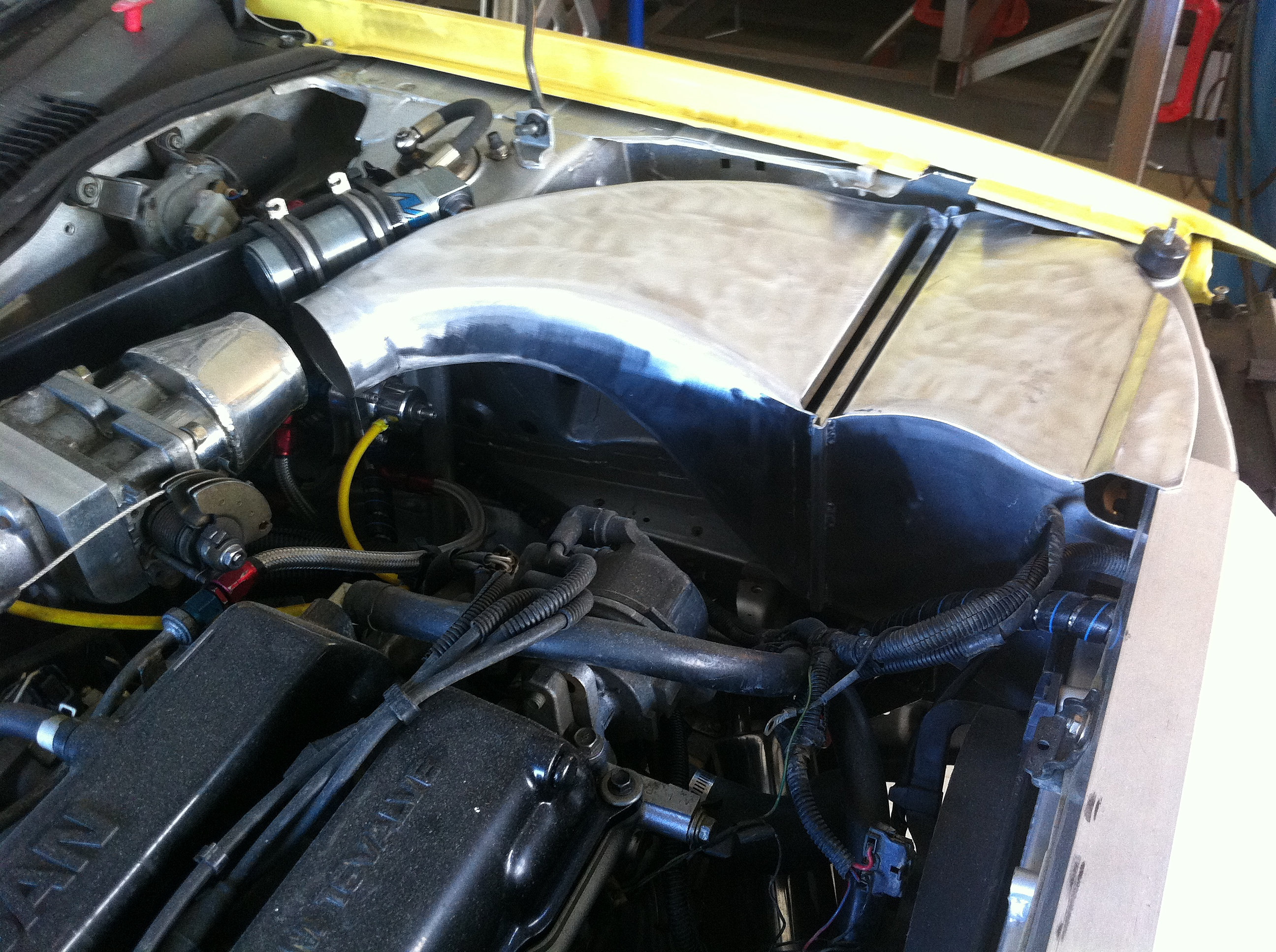 Mitchell Race Xtreme Nissan Pulsar Air Box