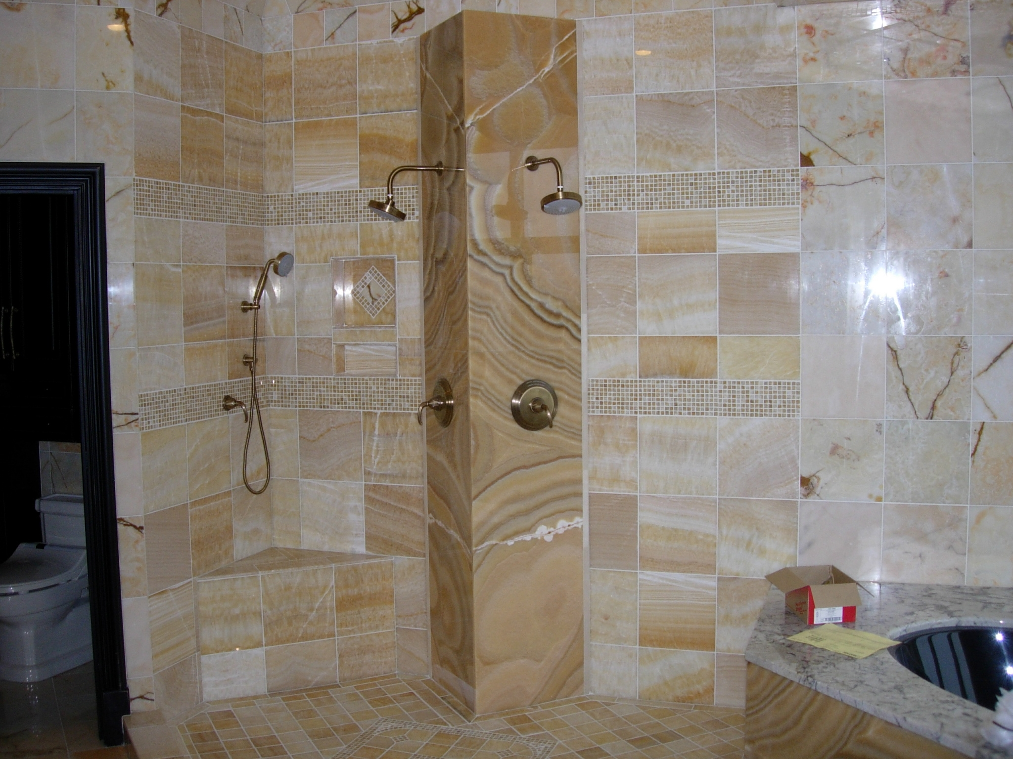Tile Showers FairFax Custom Homes - Custom showers