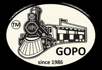 GOPO trains Logo
