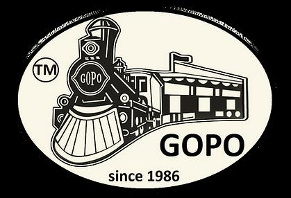 GOPO Trains Logo since 1986 Belgium Florida