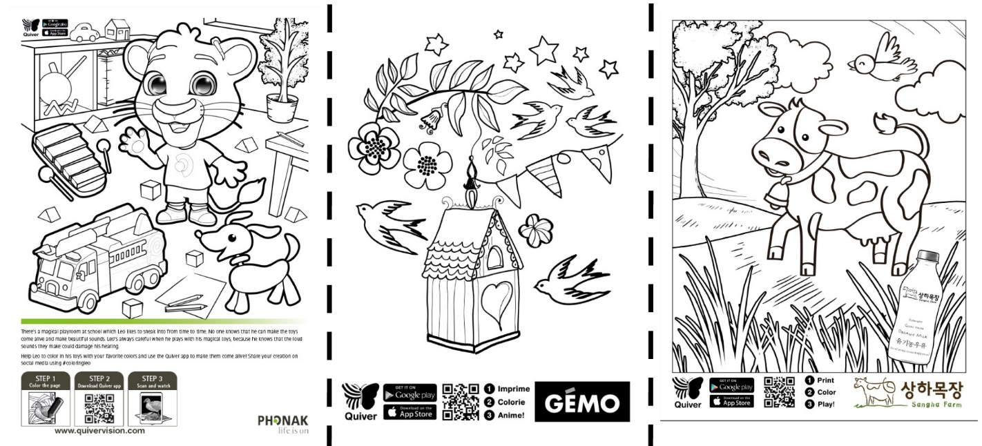 Coloring pages for quiver - Coloring Book Pages