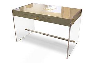 Claudia Lucite Desk