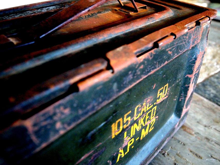 WW II Ammo Box