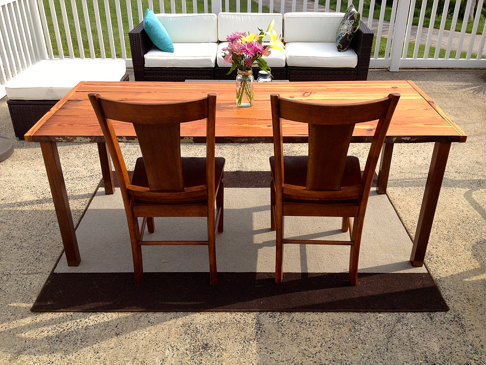 Society Hill Dining Table. Reclaimed PA Home Reclaimed Wood Furniture