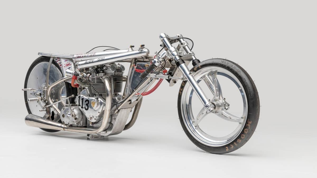 Alp Racing Motorcycles & Custom Design Land Speed Racer