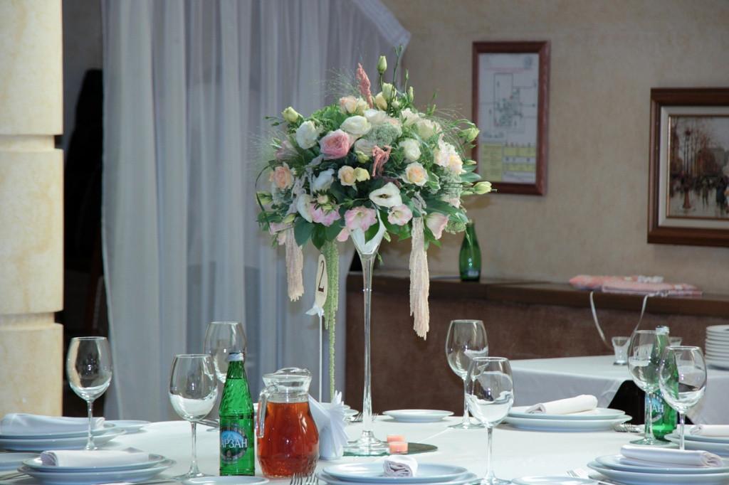 Вазы своими руками для свадебных столов 92