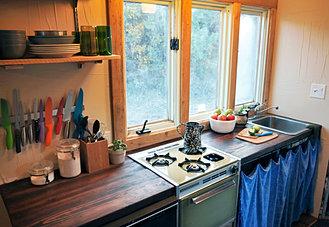 Repurposed Kitchen