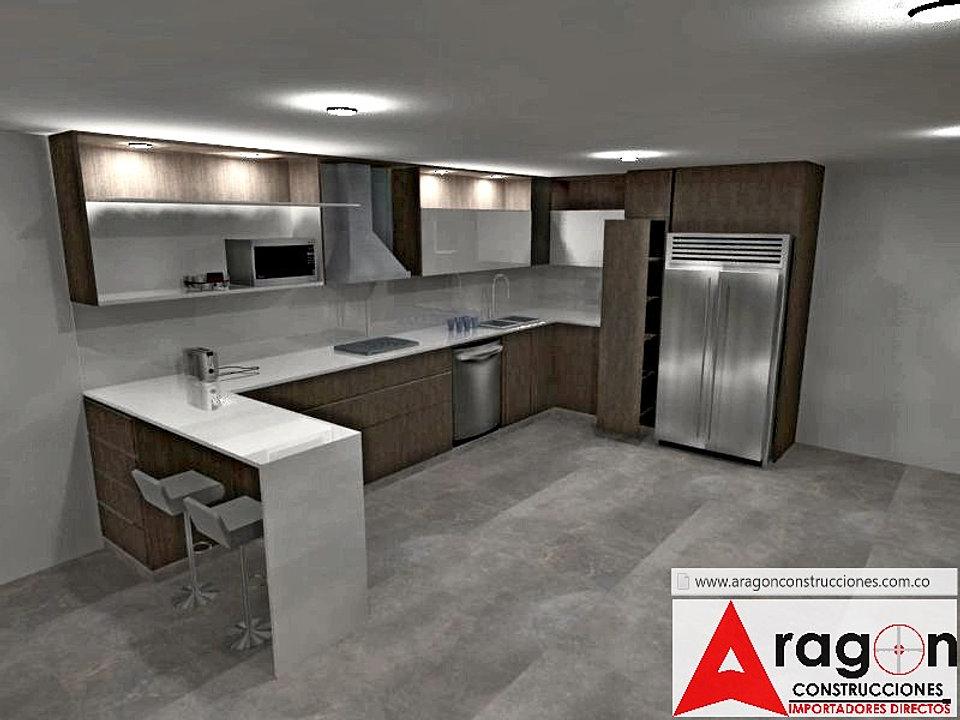 Aragon Centro De Remodelaciones Cali - Programa Diseno De Cocina 20 ...