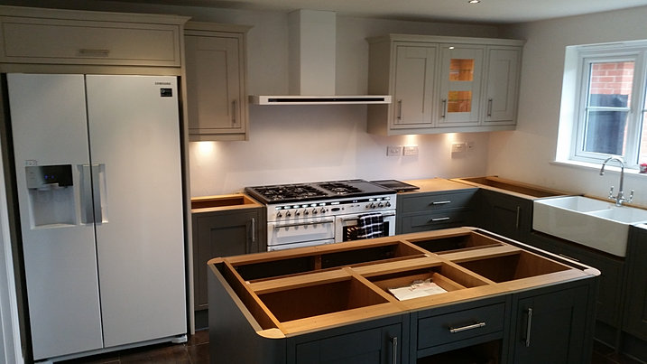 Complete Kitchen Design Installation Fitters Leicester