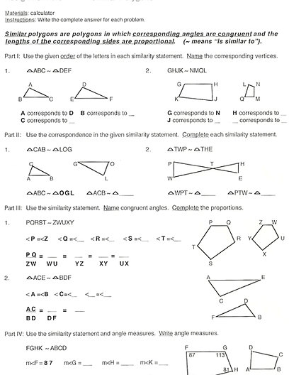 similar polygons worksheet worksheets kristawiltbank free printable worksheets and activities. Black Bedroom Furniture Sets. Home Design Ideas
