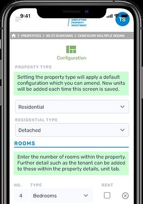 property configuration mobile.website.fw