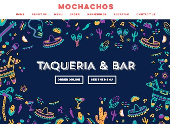 Mexican Taqueria Template - Attract customers to your restaurant with this lively and modern Mexican restaurant template. Featuring parallax scrolling, cute illustrations and bright colors, this is a great template for anyone wishing to wow their customers. Entice customers to try your food using the easy-to-edit menu feature. Simply click to being editing and create a website that's as dynamic as your restaurant!