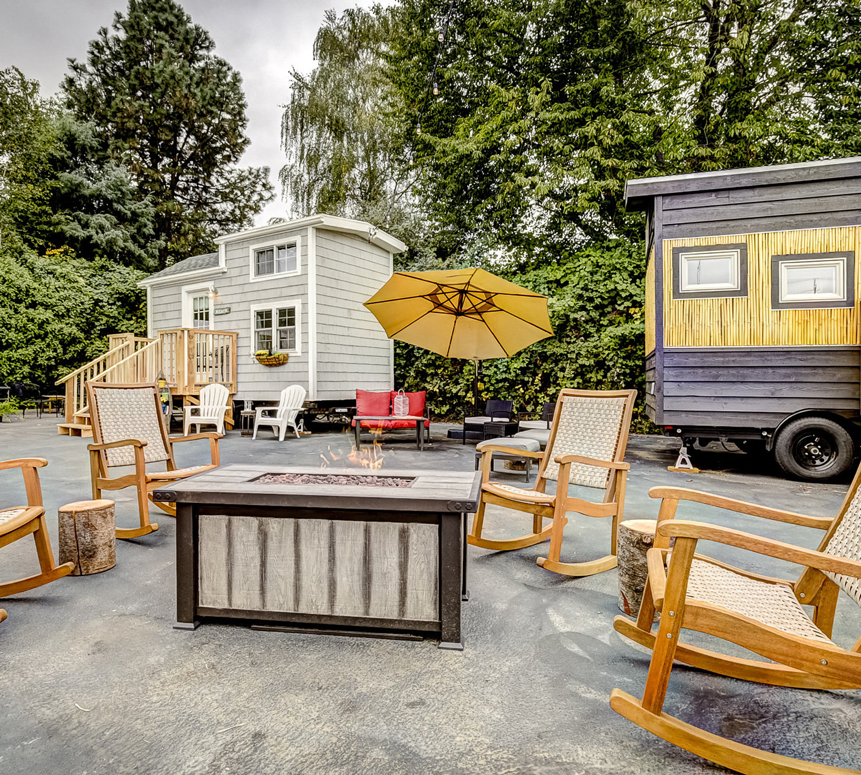 Tiny Digs Hotel of Tiny Houses Portland