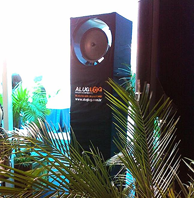 Aluglog loca o de equipamentos aspersores e ventiladores - Ventiladores de agua ...
