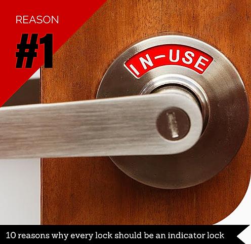We Designed our Indicator Locks with you in Mind. NEW VIGI Comfort Indicator Lock Door lock with indicator Privacy