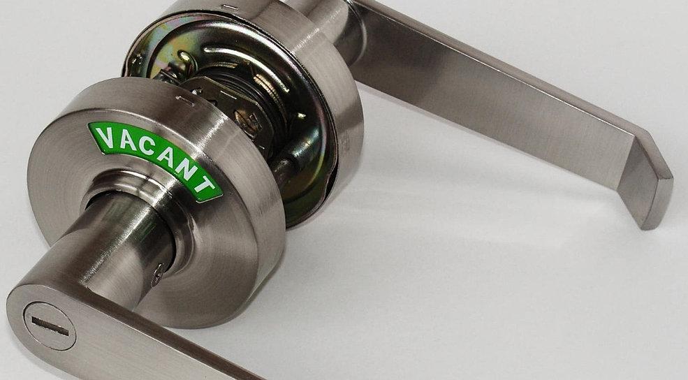 New vigi comfort indicator lock door lock with indicator - Bathroom door knobs with privacy lock ...