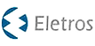 Logotipo da Eletros, logomarca da empresa com texto em preto