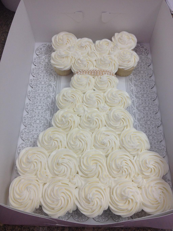 Wedding Dress Pull Apart Cupcake Cake Forever Sweet Bakery Tab Wix