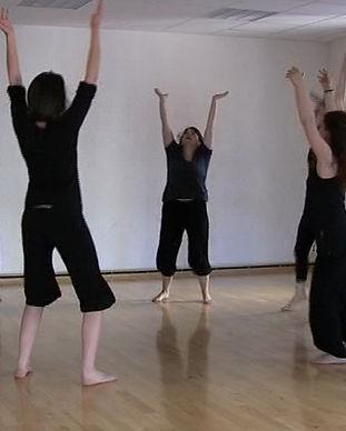 Expression primitive / Danse rythme Voix / Chant Danse tribale Pulsation Rythme