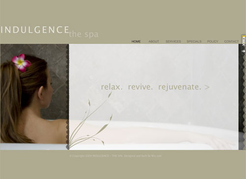 Relaxation Resorts Template - This Classic looking Website template is easy to customize and lets you present all the products and offers that your customers are looking for in real time. Just edit to make it your own in no time at all.