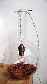 Grande Luminária Balão Químico