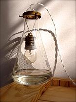 Luminária com vidro químico 2