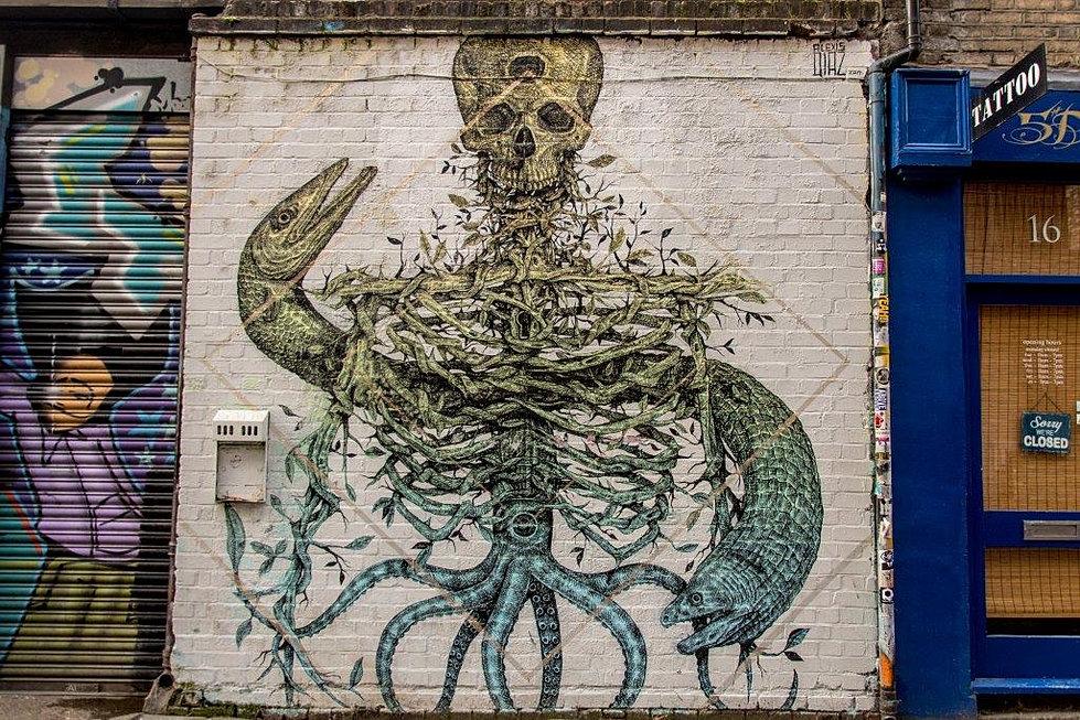 Image result for alexi diaz street art