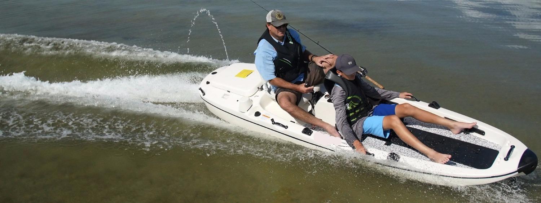 Aquanami jetangler motorized fishing kayak