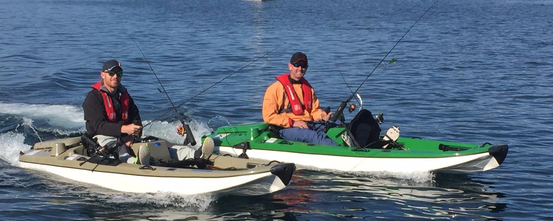 jetANGLER jet power kayak 2 seats