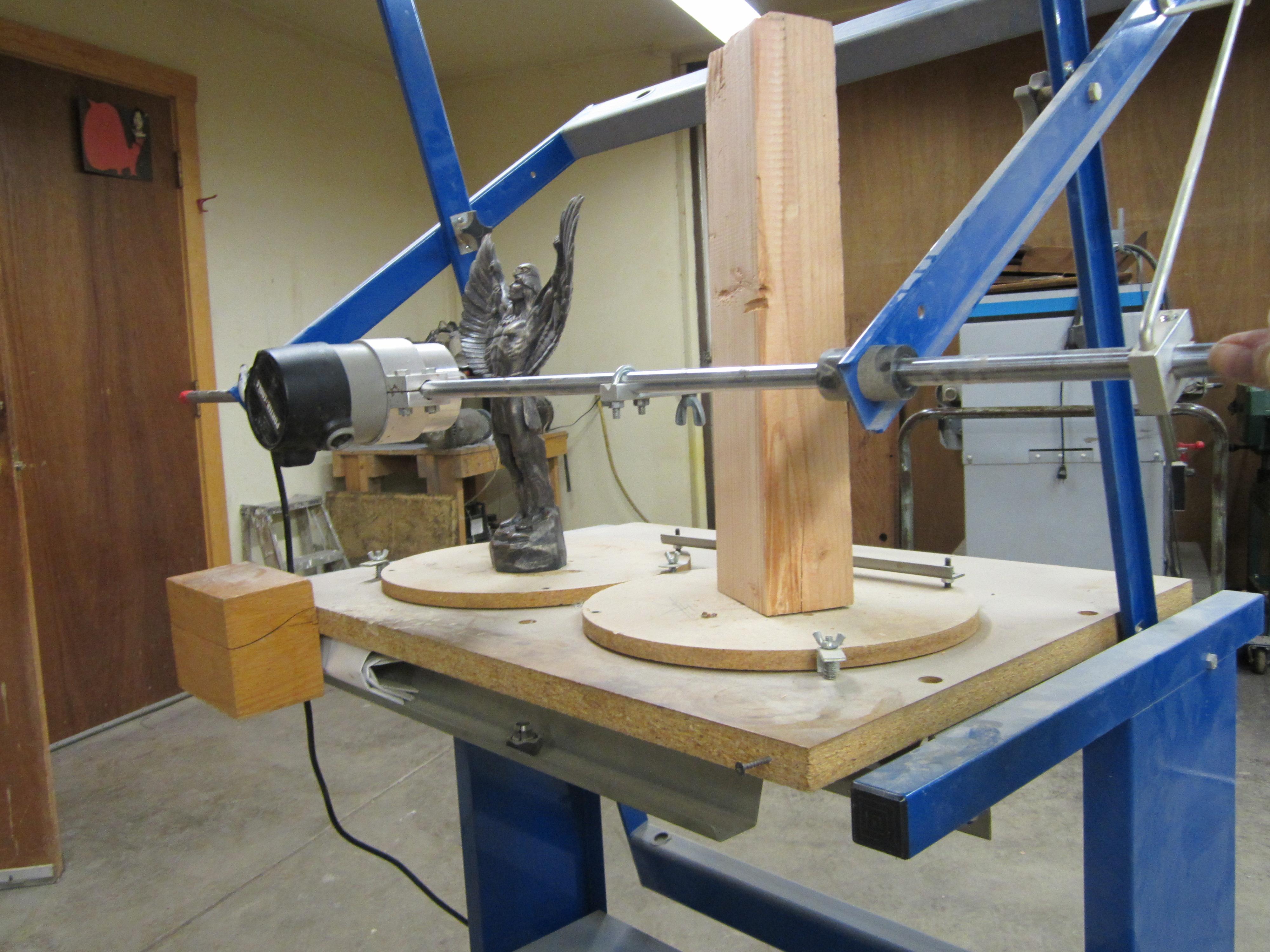woodcarver machine