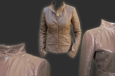 Шьем куртку из кожи своими руками