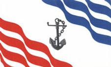 Pointe-des-cascades, drapeau