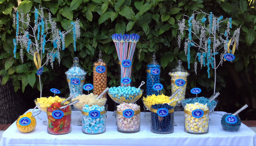 Candy Buffet Table Setup Choice Image - Table Decoration Ideas