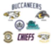 Team logo's for our Senior Teams