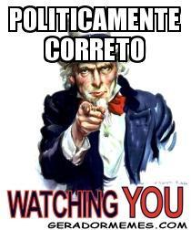 Resultado de imagem para politicamente correto