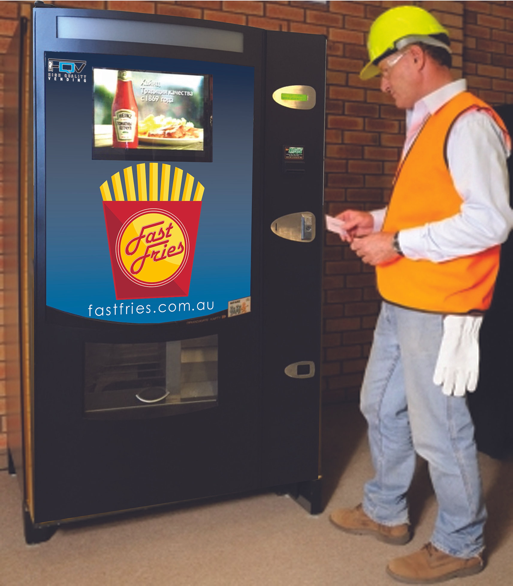 hot chip vending machines sydney hot chips on jobs sites perfect