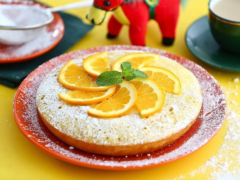 Апельсиновый кекс в мультиварке рецепт
