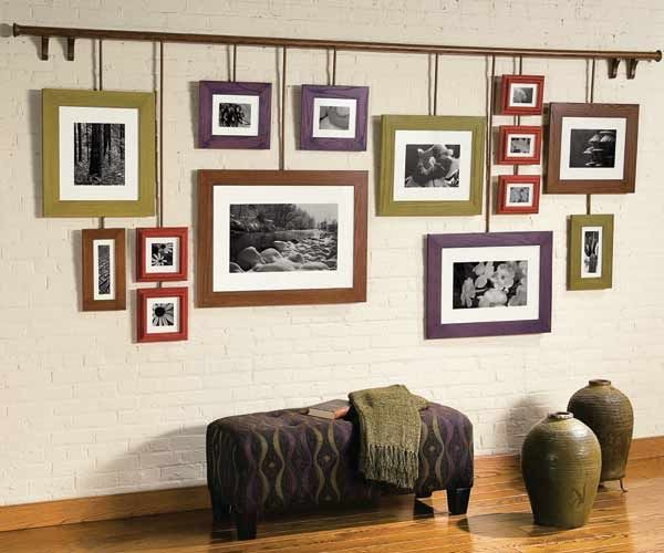 Photo Wall Ideas With Different Frames : Janine thomson royal lepage coast capital realty