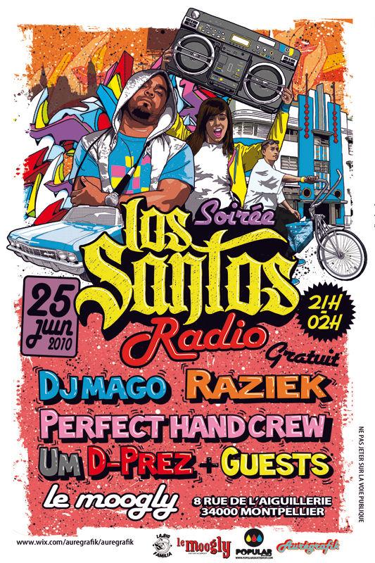SOIREE RADIO LOS SANTOS