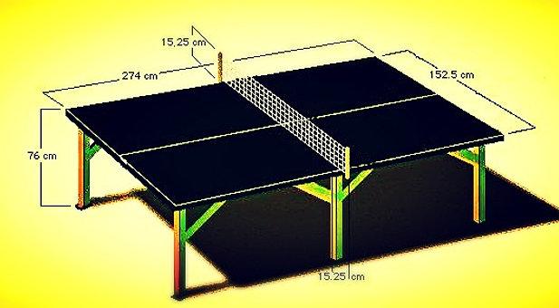 Как сделать стол для пинг понга своими руками