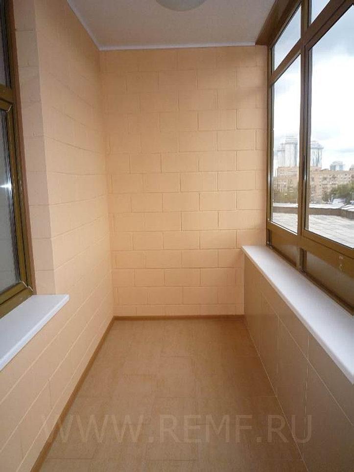 Ремонт балкона из снежки фото. - готовые балконы - каталог с.