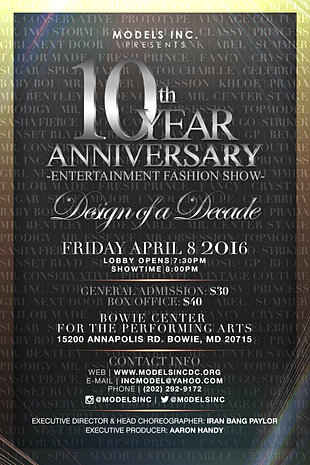 Ten Year Anniversary Fashion Show