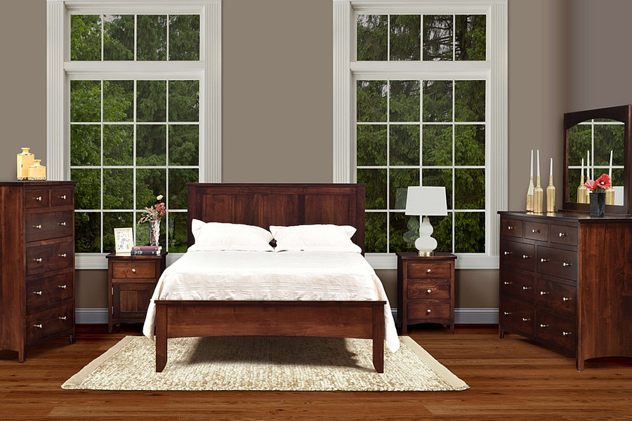 The amish home furniture gallery roxbury bedroom furniture for Affordable furniture pittsburgh