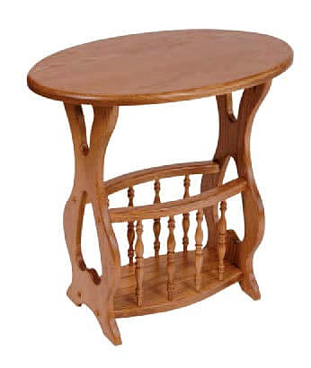 Oval Magazine Table|Great Gifts From The Amish Home|Amish Furniture At The  Pittsburgh.