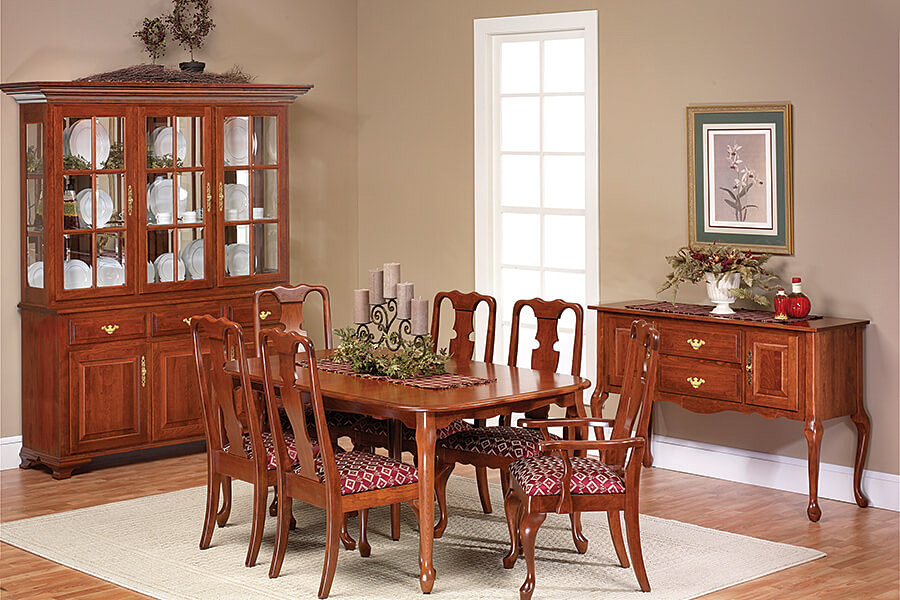 The Amish Home Furniture GalleryQueen Victoria Dining Room Furniture – Victorian Dining Room Chairs