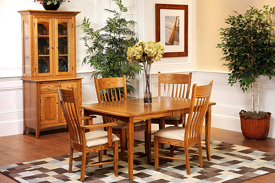The Amish Home Furniture GalleryEnglish Shaker Dining Room Furniture